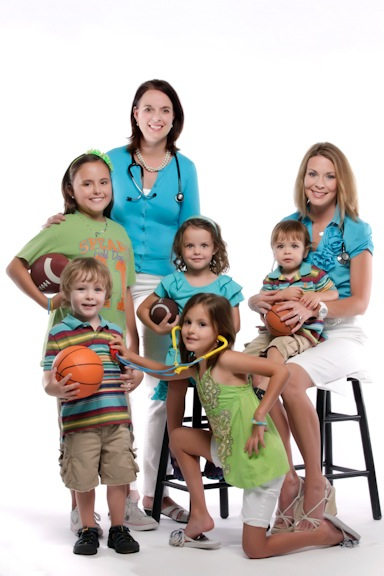 Dr. Terry & Dr. Harn with their children
